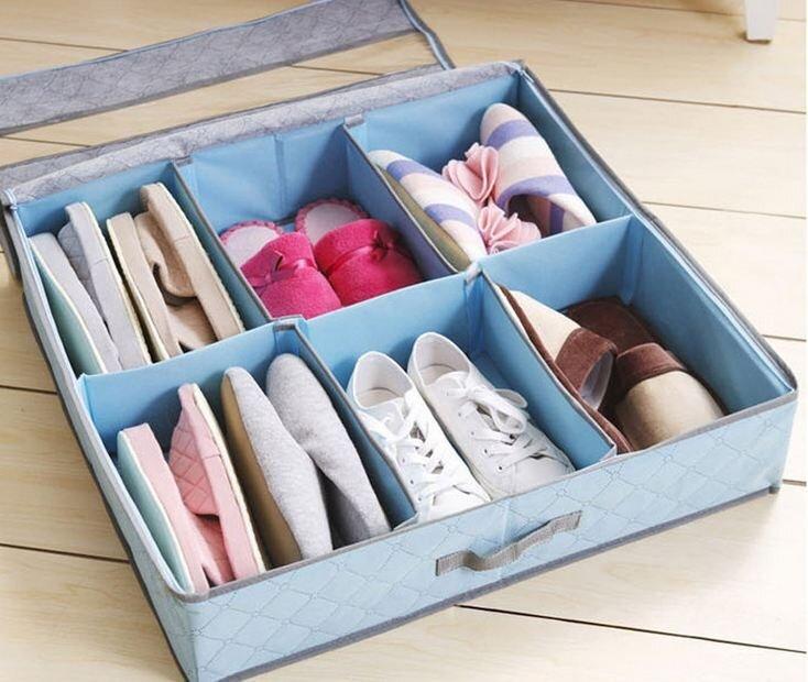 Hộp đựng giày 6 ngăn