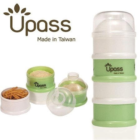 Hộp đựng sữa 4 ngăn không BPA Upass UP8004C (UP8004)