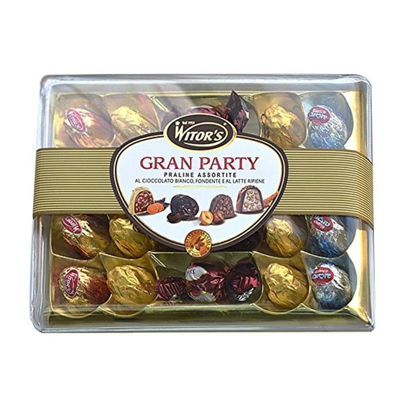 Hộp kẹo Sô cô la Witor's GRAN PARTY Praline 255g