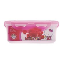 Hộp nhựa đựng thức ăn Hello Kitty Lock&Lock LKT815 - 870ml