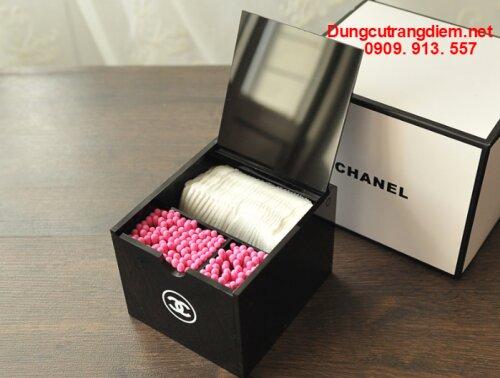 Hộp tăm bông Chanel