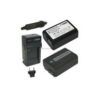 Bộ pin sạc Li-ion cho Sony Alpha,Nex,Cyber-shot,FW-50