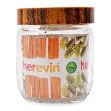 Hũ thủy tinh trơn woody Herevin 231357 - 400ml