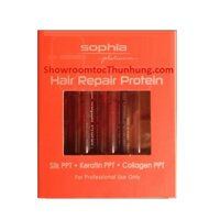 Huyết thanh phục hồi tóc hư tổn Sophia Protein Repair