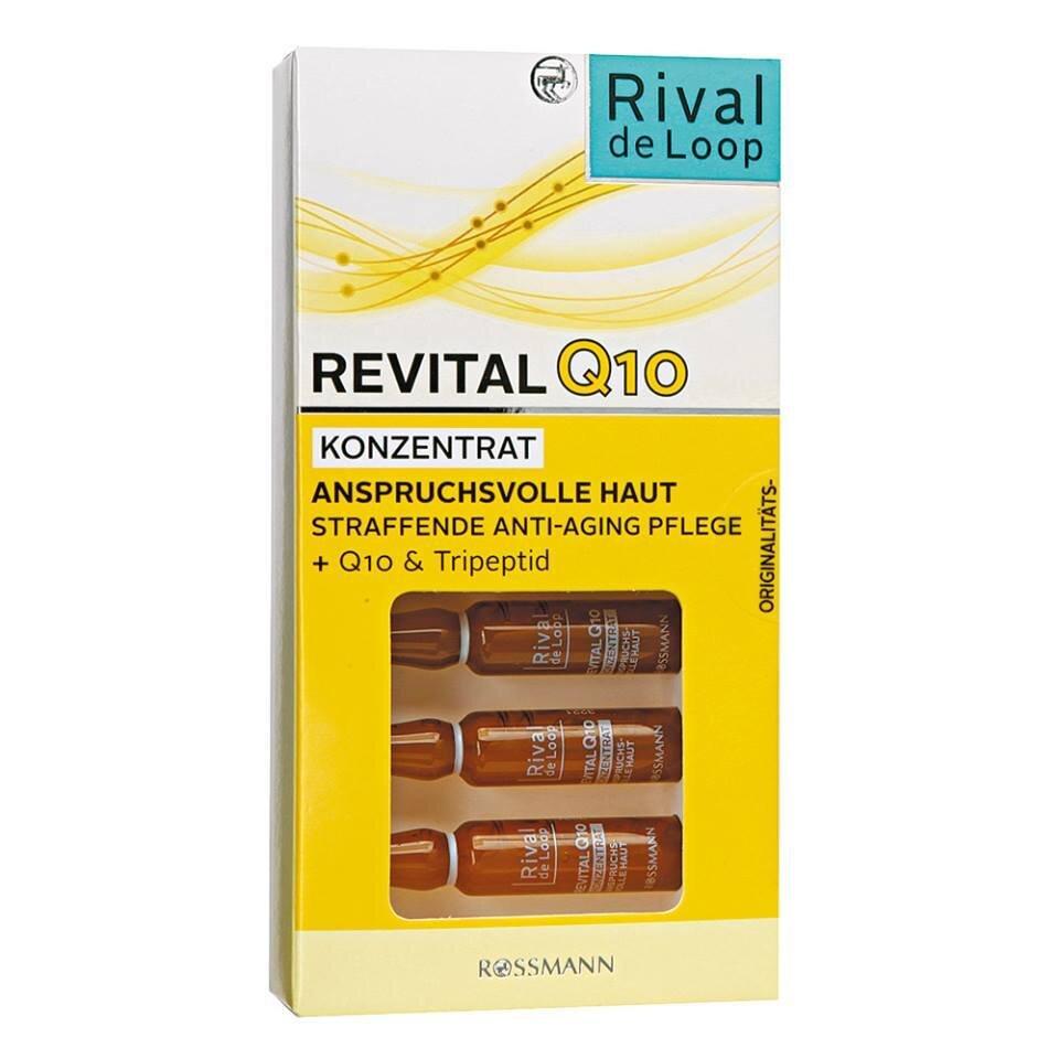 Huyết thanh Rival de Loop Revital Q10 - ngăn ngừa lão hóa, căng da