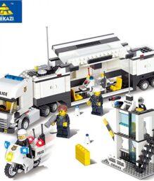 Bộ lego xếp hình siêu cảnh sát