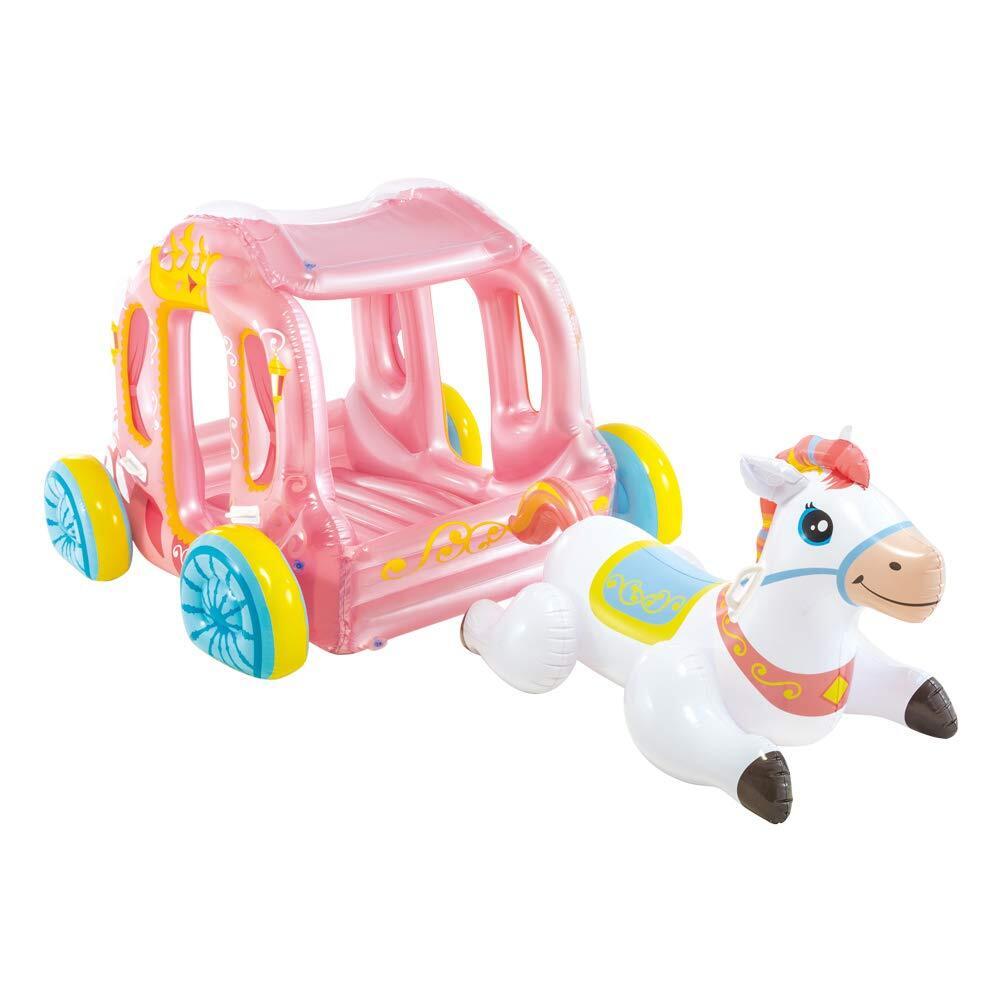 Phao bơi xe ngựa công chúa intex 56514