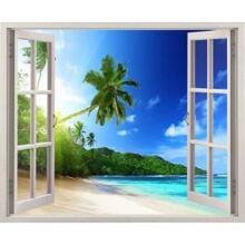 Tranh dán tường cửa sổ 3D Vạn Tường VT0001B