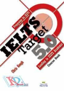 IELTS Target 5.0 ((bao gồm Course Book, Workbook, 3 Mock Tests và 1 đĩa MP3)