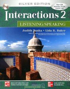Interactions 2 (Silver Edition): Listening/Speaking (Kèm CD) - Judith Tanka & Lida R. Baker