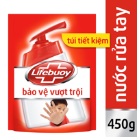 Nước rửa tay Lifebuoy bảo vệ vượt trội - túi 450g
