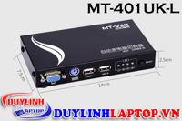 Bộ chia màn hình VGA KVM Switch 4 Port MT-401UK-L