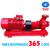 Máy bơm ly tâm trục ngang Mitsuky 100x80 2JA545 60HP 380V