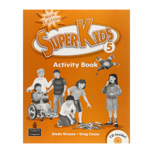 Superkids 5 Activity Book with CD
