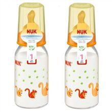 Bình sữa núm ti silicone Nuk 743404 - 110ml