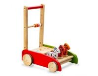 Xe tập đi bằng gỗ IQ Toys HTP001