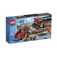 Bộ xếp hình Xe tải vận chuyển quái vật Lego City 60027
