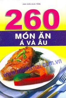 260 Món Ăn Á Và Âu