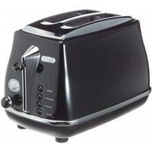 Máy nướng bánh mì DeLonghi CTO2003 (CTO-2003) - 900W, màu: R/ W/ B/ BK...