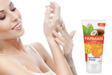 Kem dưỡng ẩm cho tay và cơ thể chiết xuất quả mơ, dừa và xoài Farmasi Exotic Hand & Body Cream 200ml