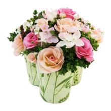 Giỏ hoa hồng Gypso Antwerp