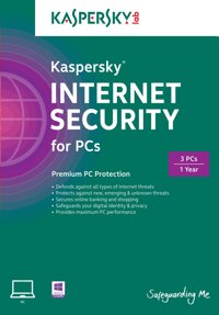 Kaspersky Internet Security 2015 for 3 user bản thẻ
