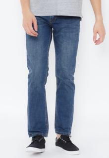 Quần jeans Tencel Novelty form basic xanh dương NQJMMTNCEA1604080