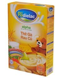 Bột ngũ cốc gà rau củ Ridielac Alpha - 200g