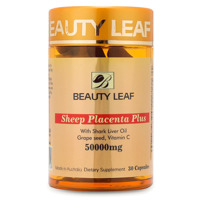 Viên uống nhau thai cừu Úc Beauty Leaf Sheep Placenta Plus 50000mg