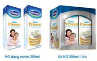Sữa Nước Vinamilk Sure prevent lốc 200ml