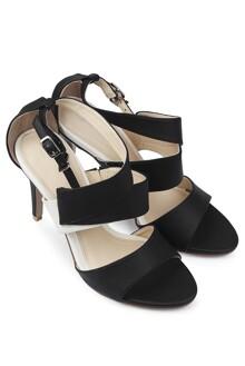 Giày Sandal Cao Gót 9cm Quai Ngang Juno SD09015
