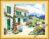 Tranh thêu chữ thập -phong cảnh ngôi nhà - DLH-YA652