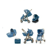 Xe đẩy trẻ em Brevi Crytal 3 trong 1 BRE719 - màu 035/ 233/ 260/ 239 ...