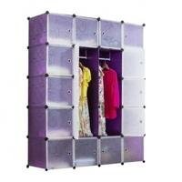 Tủ quần áo đa năng 20 ngăn Tupper Cabinet TC-20PP-W