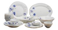 Bộ 20 món đồ dùng bàn ăn thủy tinh ngọc Vitriares 808-20T