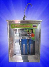 Tủ inox dùng cho máy lọc nước Nano