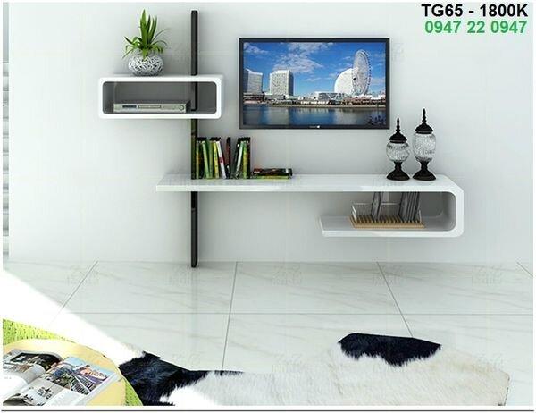 Kệ gỗ Tivi treo tường ấn tượng Tg65
