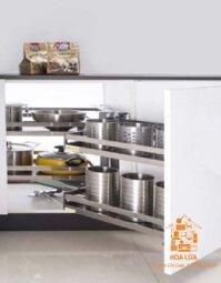 Kệ góc liên hoàn tủ bếp EUROGOLD EU.12012-R