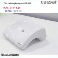 Kệ sứ phòng tắm, dĩa xà bông Caesar KAG-RT1145