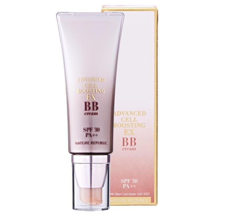 Kem BB chống nắng chiết xuất tế bào gốc advanced cell boosting EX stem cell BB cream SPF30PA++