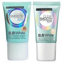 Kem BB Maybelline chống nắng vượt trội Clear Smooth UV BB White SPF50
