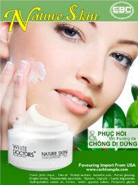 Kem chống dị ứng, kích ứng, làm dịu da White Doctors Nature Skin