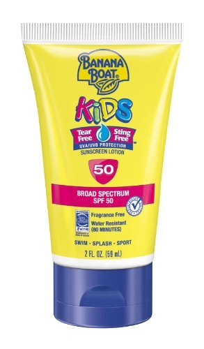 Kem chống nắng Banana Boat Kids Tear Free Sunscreen Lotion SPF50 - 59ml