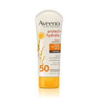 Kem chống nắng cho da mặt Aveeno Protect + hydrate Lotion Suncreen With Broad Spectrum SPF 50