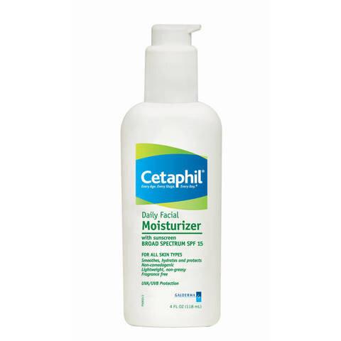 Kem chống nắng dưỡng ẩm hàng ngày cho da mặt Cetaphil Daily Facial Moisturizer SPF15 118ml