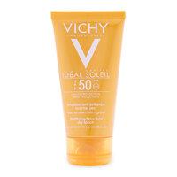 Kem chống nắng không gây nhờn rít Vichy Ideal Soleil Mattifying Face Fuild SPF 50 UVB+UVA 50ml