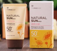 Kem chống nắng Natural Sun Eco Photogenic Sun Blur SPF50