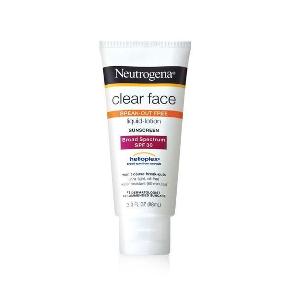 Kem chống nắng Neutrogena cho mặt SPF 30 clear face