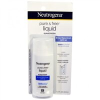 Kem chống nắng Neutrogena Pure & Free Liquid Sunscreen SPF 50