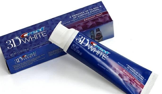 Kem đánh răng Crest 3D White - 156gr